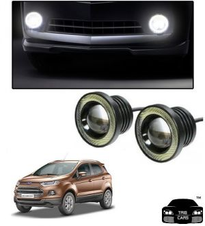 Buy Trigcars Ford Eco Sport Car High Power Fog Light With Angel Eye online