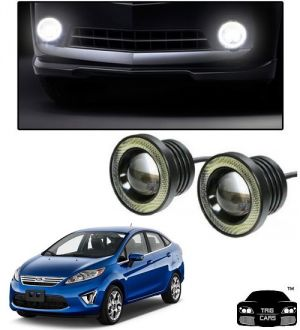 Buy Trigcars Ford Fiesta New Car High Power Fog Light With Angel Eye online