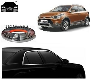 Buy Trigcars Hyundai I20 Active Car Side Window Chrome Beading Moulding Roll Car Bluetooth online