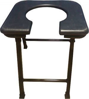 Buy Kudize Commode Black Stool (code - St11) online