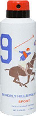 Beverly Hills Polo Club Sport 9 Deodorant Spray - 175 Ml (for Men)