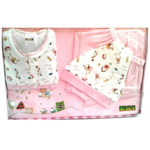 b7d29aafc65 Buy Eci Newborn Baby Infant Gift Set With Baba Suit Boy And Girl Clothing