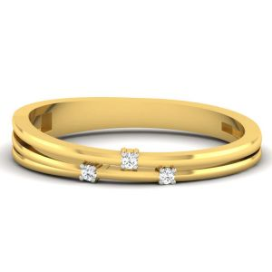 Buy Avsar 18k Diamond Ring (code - Avr397a) online