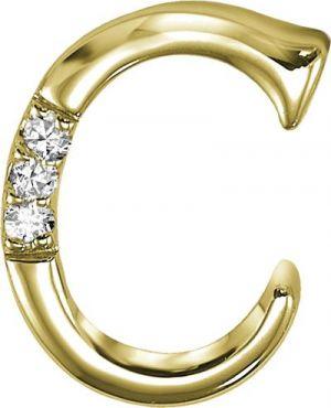 Buy KIARA U0027Cu0027 ALPHABET DESIGN AMERICAN DIAMOND PENDANT Online