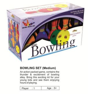 Buy Ekta - Bowling Set Senior Fun Game online
