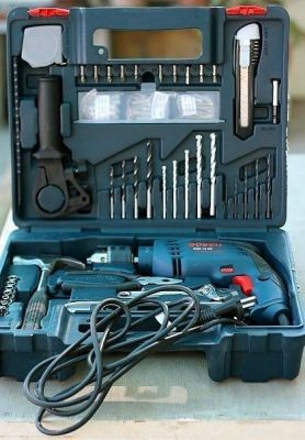 Buy Bosch Gsb 13 Re / 600 Re Impact Drill 13mm 600w Tool Kit online