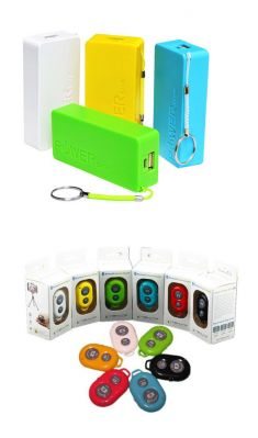 Universal 5600 MAH Power Bank With Smartphone Bluetooth Remote