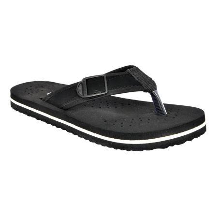 016202688325e Buy Altek Comfort Orthopedic Black Flip Flops For Men (code  Foot fl 1434 black p100) Online