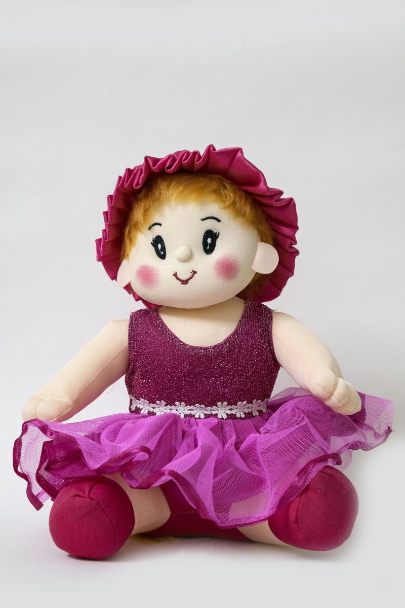 Buy Baby Doll Girl Sweety Purple Color by Lovely Toys online
