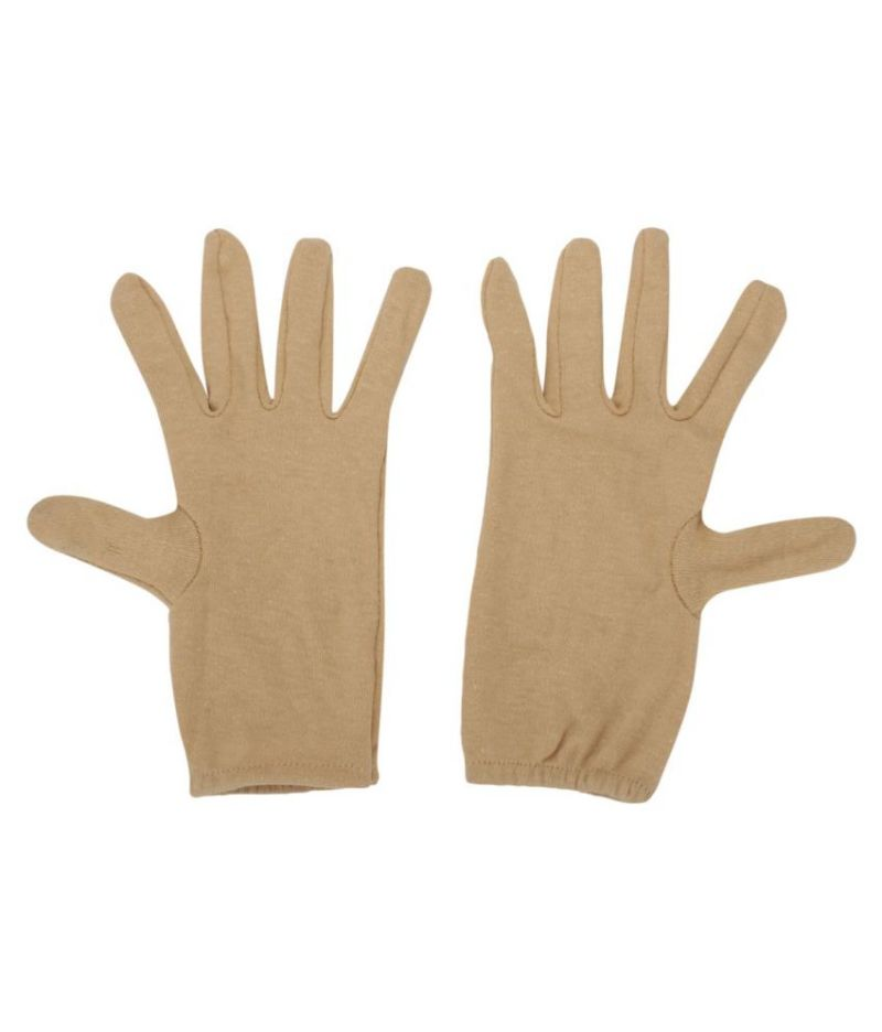 Buy Women's Hand Gloves For Cold, Dust & Sun Protective Quality Material Skin Colour Gloves online
