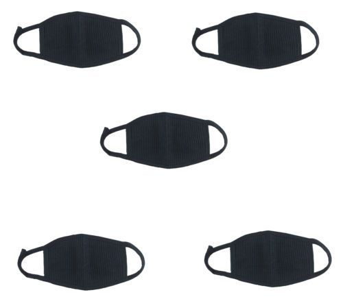 Buy 5 PCs Pollution / Dust Mask For Mouth & Nose online