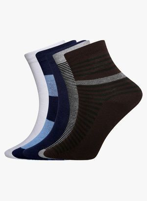 Buy 6 Piece Of Combo Sports Socks For Mens online