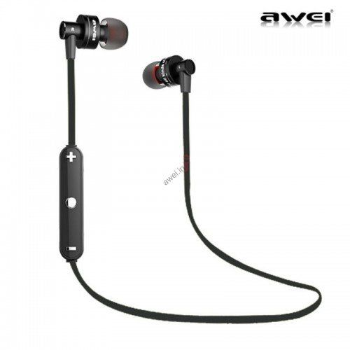 Buy Awei A990bl Wireless Sports Bluetooth 4.0 Noise Isolation Earphone online