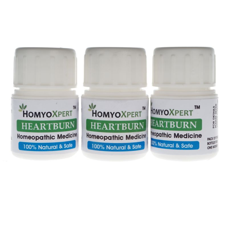 Buy Homyoxpert Heart Burn Homeopathic Medicine For One Month online