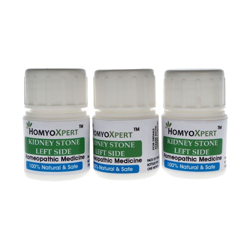 Buy Homyoxpert Left Kidney Stone Homeopathic Medicine For One Month Online Best Prices In India Rediff Shopping