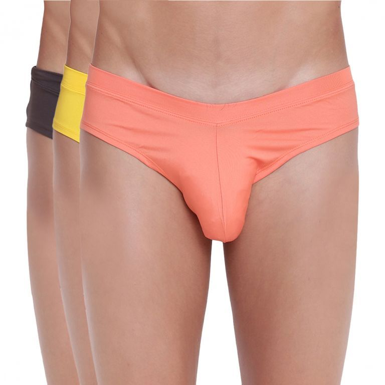 Buy Fanboy Style Brief Basiics by La Intimo (Pack of 3 ) online