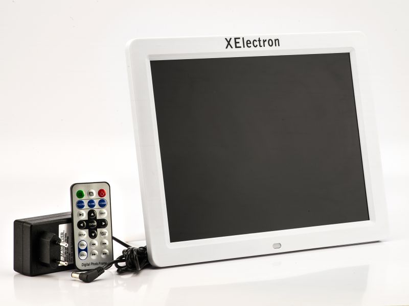 Buy Xelectron 12 Inch HD Ready Digital Photo Frame With Remote ...