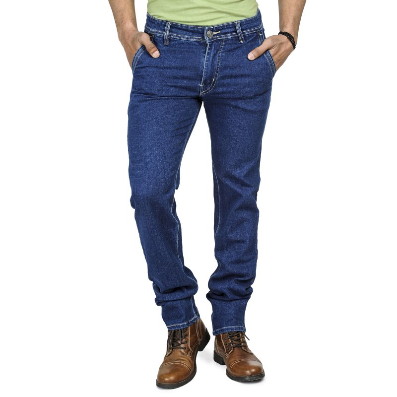 Buy Jollify Blue Ble Slim Fit Mens Jeans online