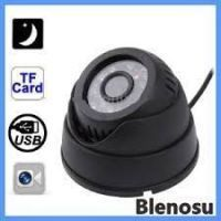 Buy Cctv IR Dome Camera With Inbuilt Recroding Card Slot Nightvision Dvr online