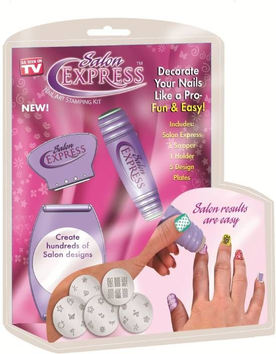 Buy As Seen On Tv Salon Express Nail Polish Art Decoration Stamping