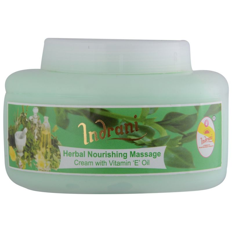 Buy Indrani Herbal Nourishing Massage Cream With Vit-e Oil-500gm online