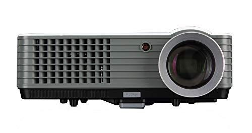 Buy Untech Rd801 LED Portable Projector Full HD Home Cinema 2200 Lumens 200 Inch Big Screen Support (white) online