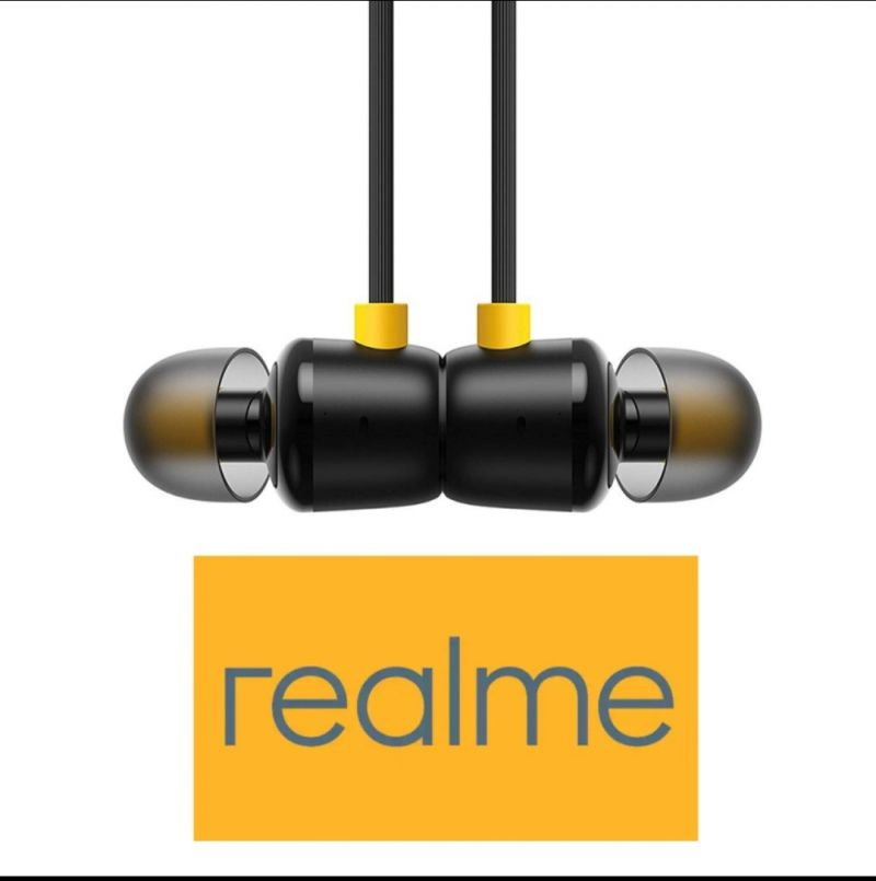 Buy Balaji Realme Earbuds With Mic For Android Smartphones (black) online