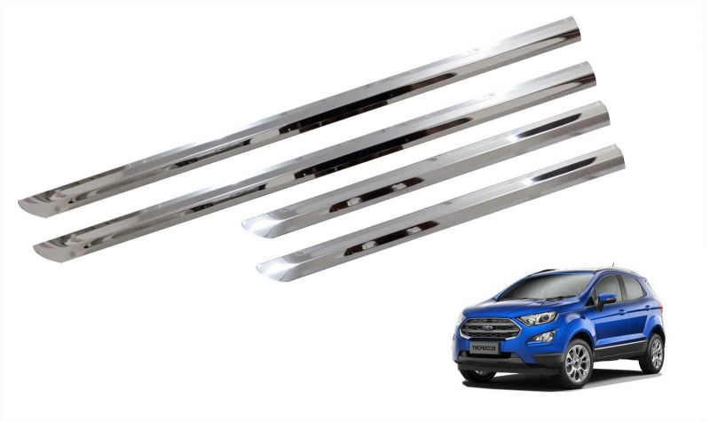 Buy Trigcars Ford Ecosport Car Steel Chrome Side Beading online