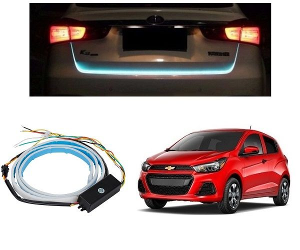 Buy Trigcars Chevrolet Spark Car Dicky LED Light Car Bluetooth online