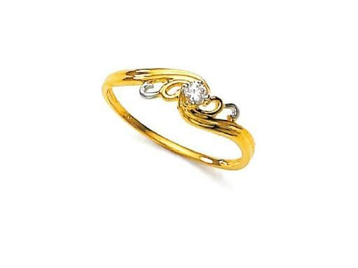 Buy Unique Real Gold And Diamond Fancy La s Ring line