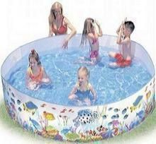 Buy 6 Feet Diameter Premium Children Swimming Pool 1000 Ltr By Dealmart online