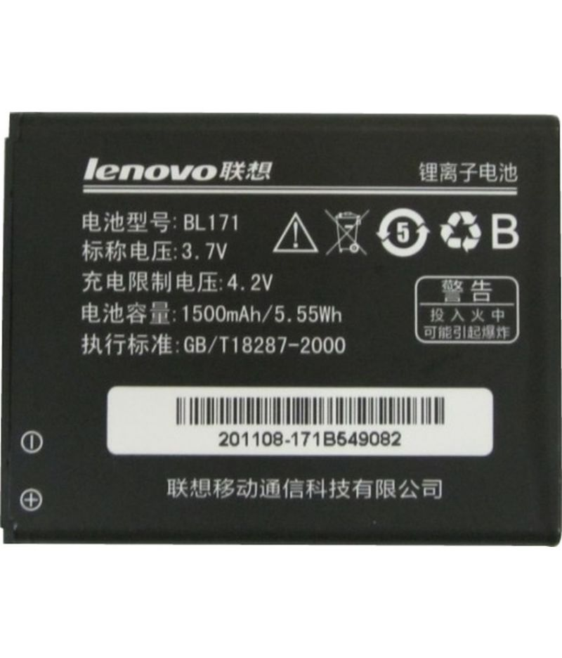 Buy Lenovo A356/a368/a60/a65/a390/a390t Original Li Ion Polymer Replacement Battery Bl-171 By Snaptic online