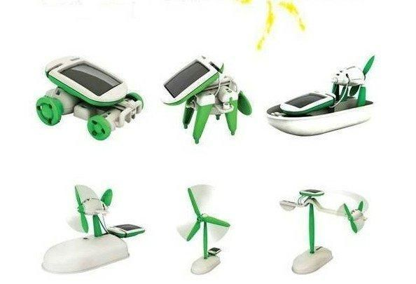 Buy Solar Powered 6 In 1 Robot Kit Diy Educational Toy online