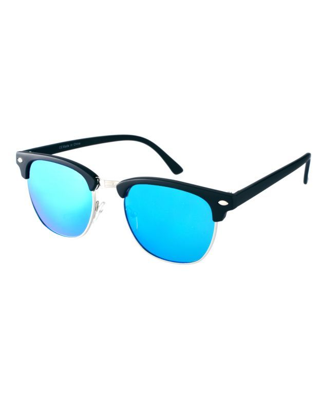 Buy EDGE Plus Club Star Blue Mirror Sunglasses For Women online